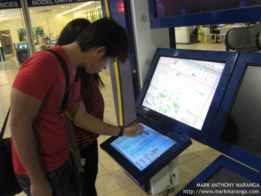 Interactive Touch Screen Map