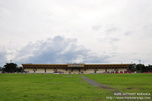 Landscape - Full View of Quirino Grandstand