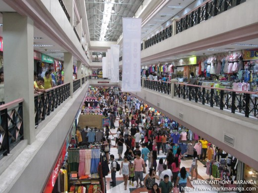 Many visitors of Tutuban Mall