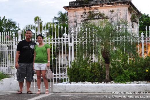 Mark and Lisa at Mactan Shrine