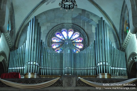 Pipe Organ at the Choir Loft