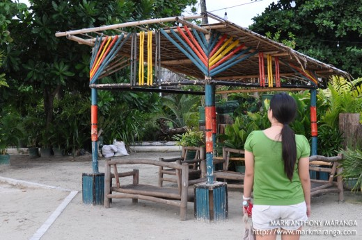 Resting area at Mactan Shrine