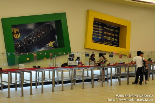 Star City Ticket Counter