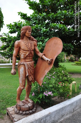 The Short Lapu-lapu Statue