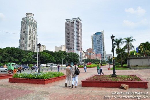 View of Manila Buildings from KM 0