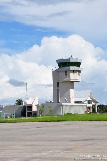 Airport's Command Center Tower