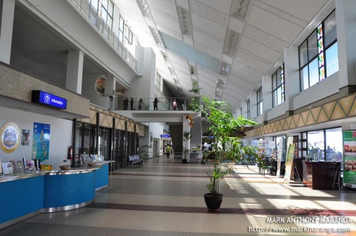 Interior of the Airport Complex