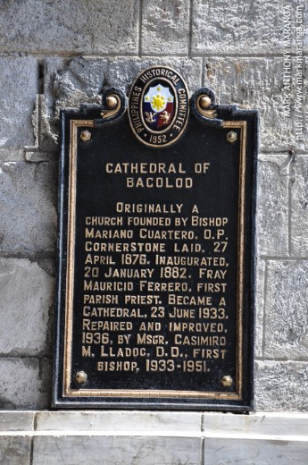 Marker of the San Sebastian Cathedral