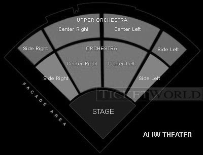 Seating Arrangement at Aliw Theater