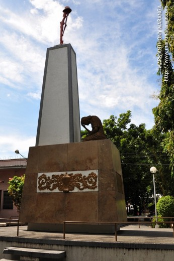 Bacolod City Plaza's War Memorial