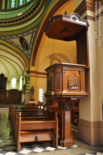 Pulpit of the Church