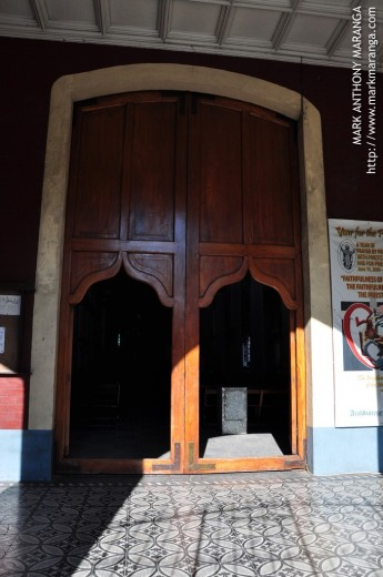 Old-style Entrance Door