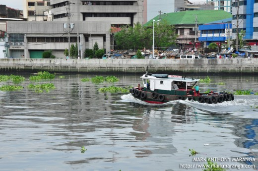 Small Boat in Pasig River