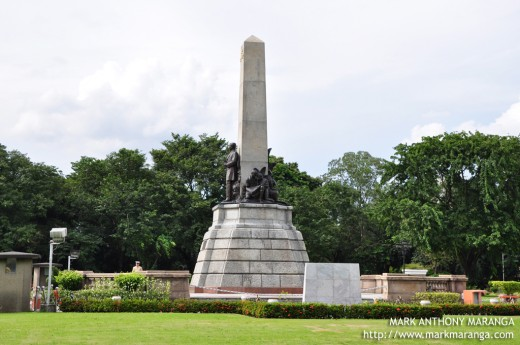 Rizal Monument Side View