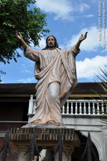Statue of Jesus Christ in the Bishop's Palace