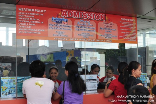 Admission Counter