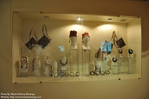 Bags, Necklaces, Head gear