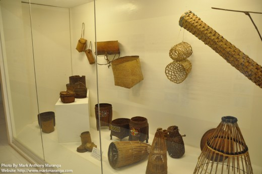 Handicraft made from rattan