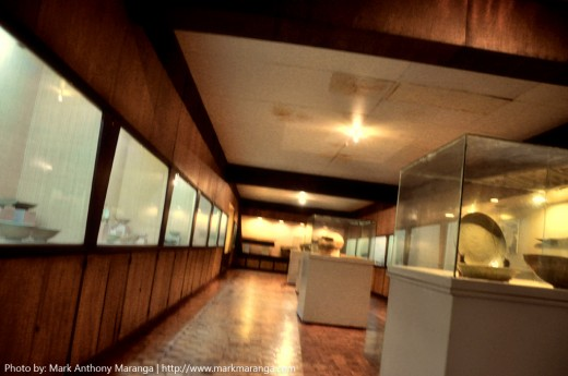 Inside the Archeaology Room