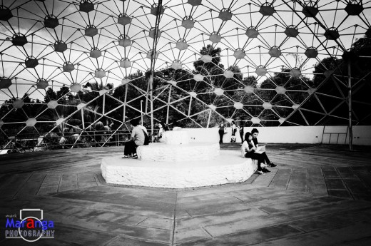Inside the Durian Dome