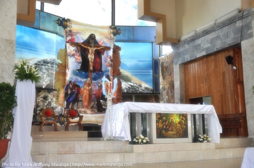 Main Altar of Sto Nino Shrine