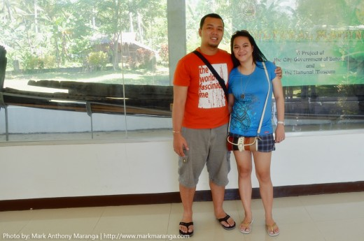 Mark and Lisa at Balangay Site Museum