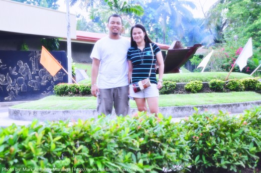 Mark and Lisa at Butuan Museum
