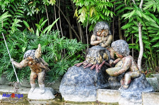 Pond Sculptures