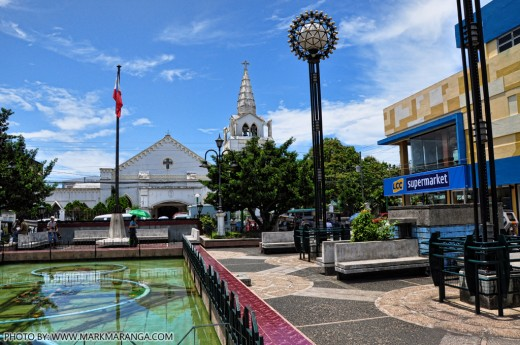 St. Raphael Church from Plaza Rizal