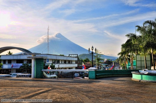 View of Mt. Mayon