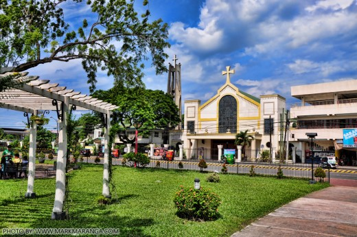 Our Lady of Peace and Good Voyage Church - Landscape