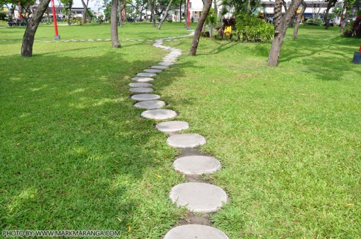 Stones as Walkway