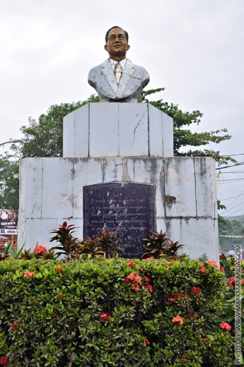 Jose P Laurel Monument