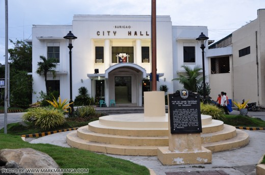 City Hall of Surigao and Site of the First Philippine Flag raising in Mindanao