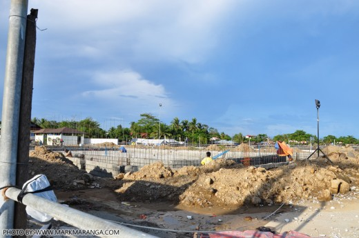 On-going Construction of New Pool