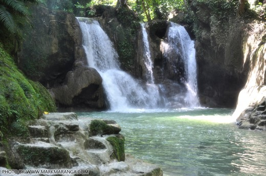 Beauty of Mag-aso falls