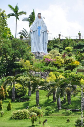 Huge Statue of Mother Mary in Sibulan