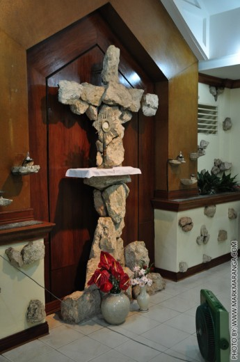 Inside the Adoration Chapel