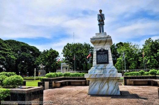 Monument of Leon Kilat in Bacong