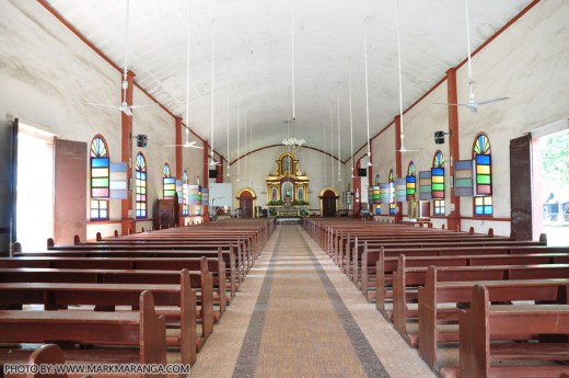 Interior of San Antonio de Padua Church