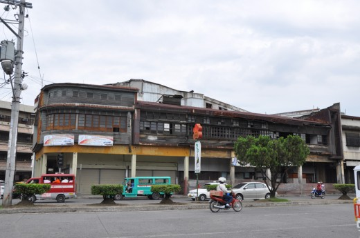 Old Building Near Davao Chinatown