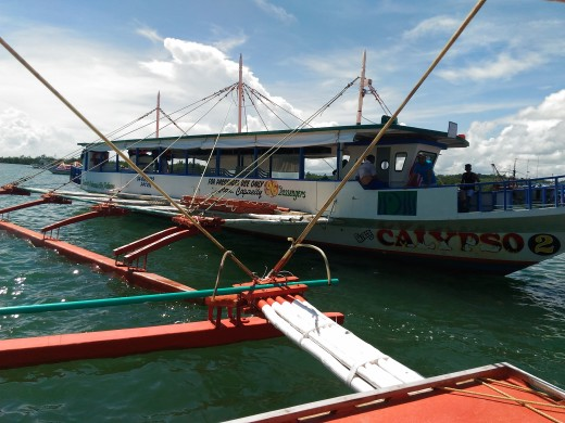 96 Passengers Capacity Bangka at Honday Bay