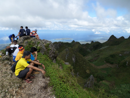 Bosconian Priests-to-be during their Meditation at Osmena Peak