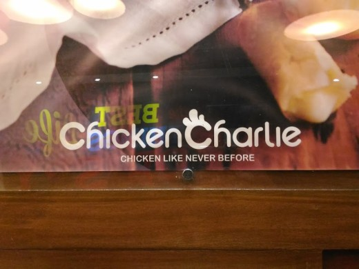 Chicken Charlie Menu