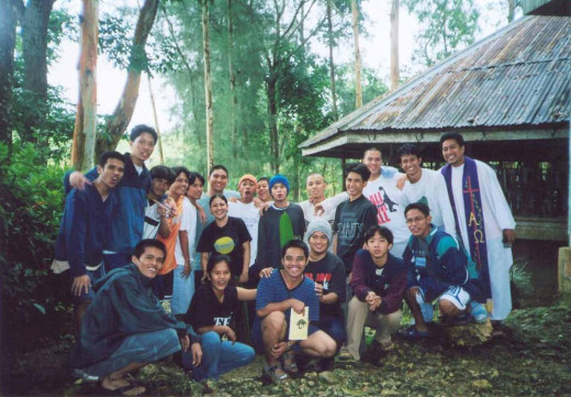 College Years - At the Don Bosco Retreat House