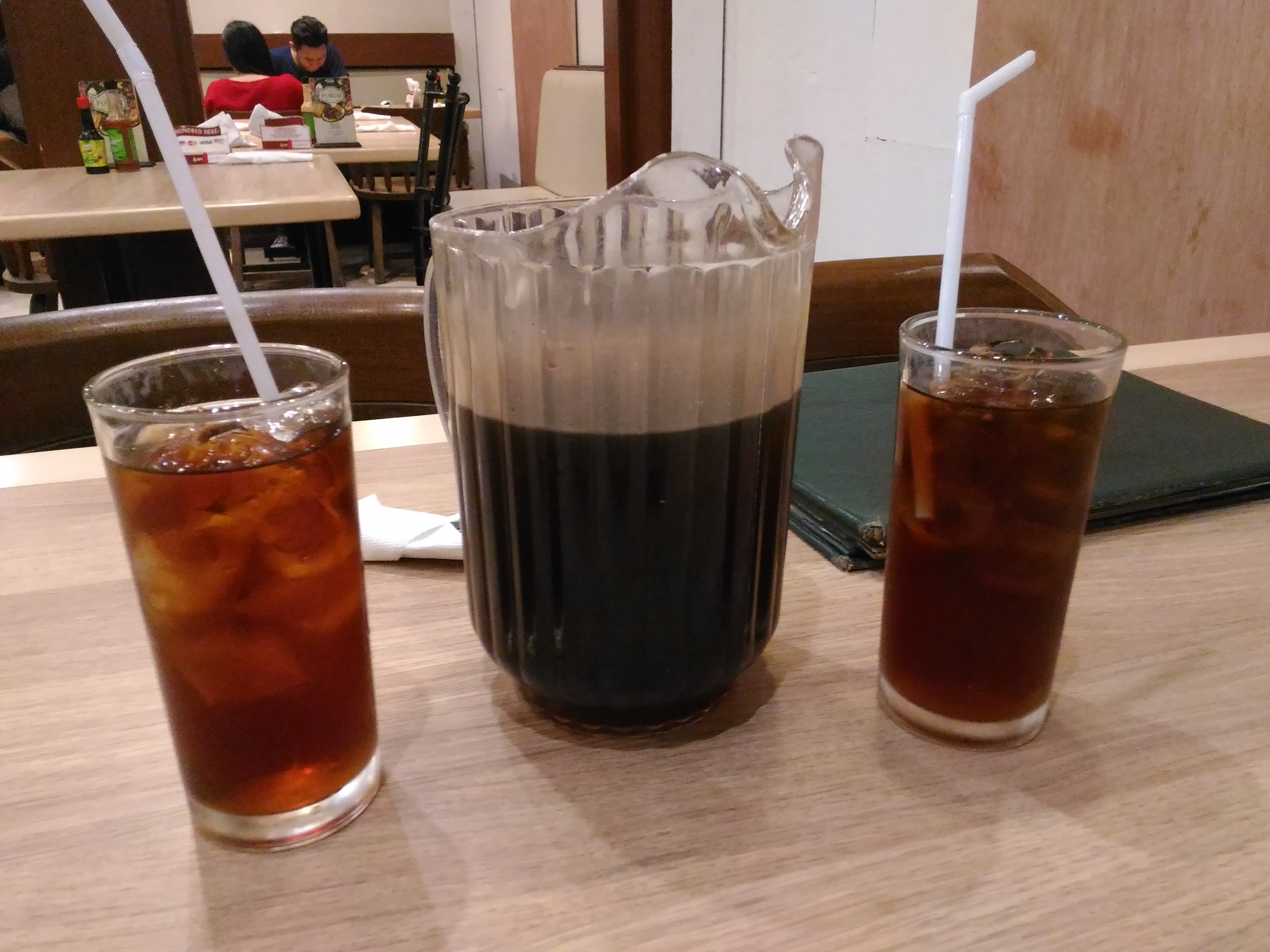 Casa verde casual dining cebu philippines travel for Drinks with iced tea
