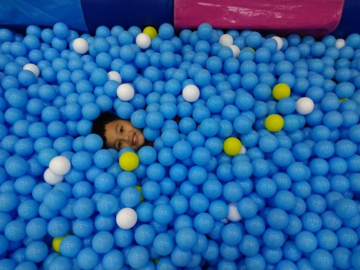 Sam in the Ball Pool