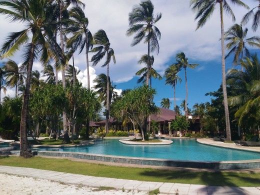 Swimming Pool at Dos Palmas Island Resort