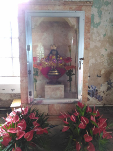 The Santo Nino inside the Church
