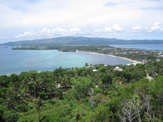 Boracay Island from the View Point